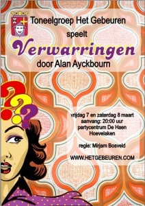 Flyer verwarringen